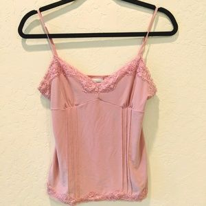 No Boundaries Tops - Baby Pink Camisole Shirt